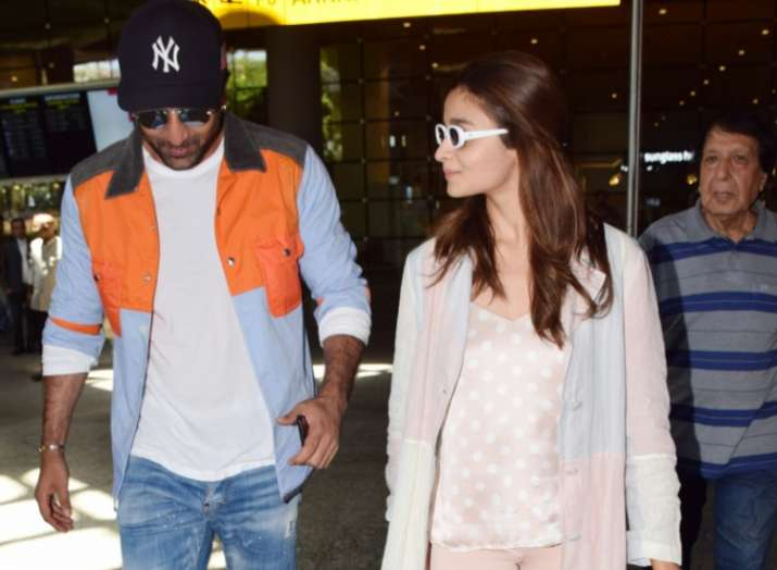 India Tv - Ranbir Kapoor and Alia Bhatt are back from their Europe vacations