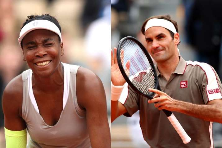 French Open 2019: Venus Williams loses in straight sets, Roger Federer enters second round