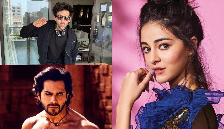 Varun Dhawan is Ananya Panday's saviour; stops Kartik Aaryan from flirting with her- viral video