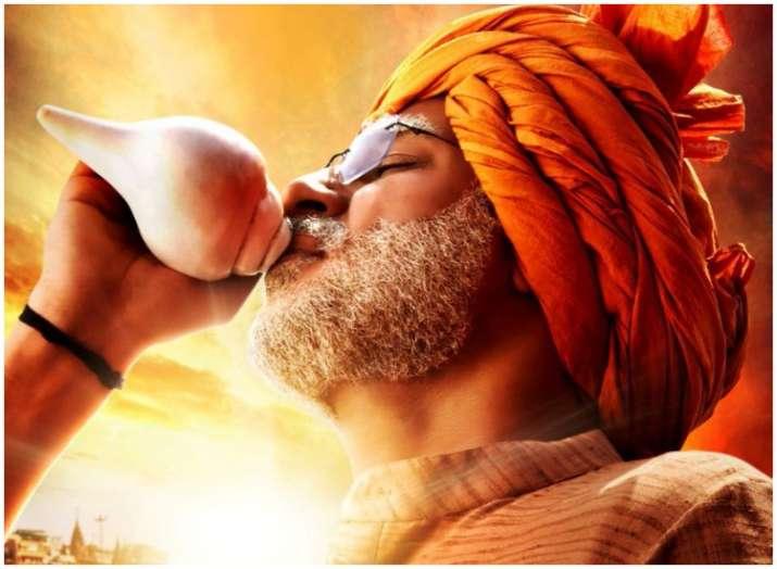 Vivek Oberoi, Nitin Gadkari launch PM Narendra Modi biopic