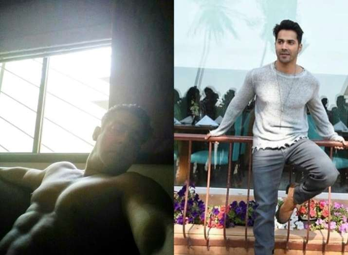 Salman Khan goes shirtless and posts a picture, Varun Dhawan leaves the coolest remark