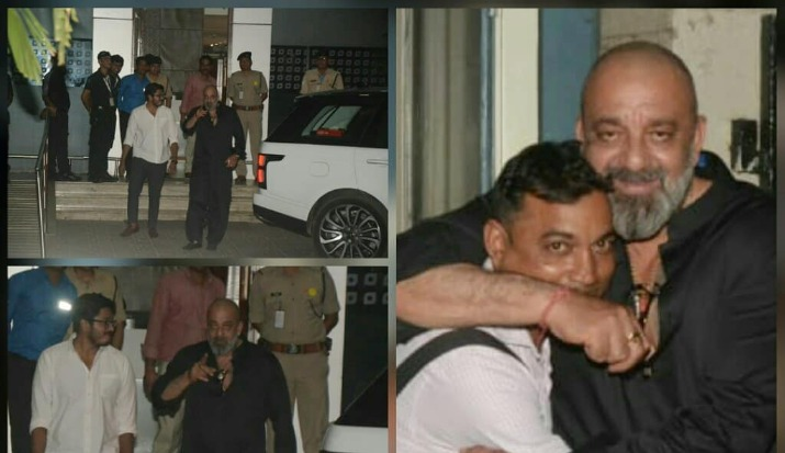 Sanjay Dutt hugging the paps and getting clicked with them show that he is the most humble actor