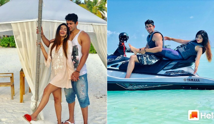 Do Divya Agarwal and Varun sood's beach pictures