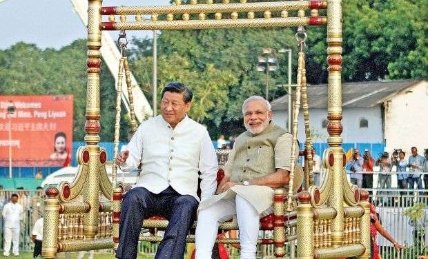 India Tv - Narendra Modi in his 5 years in office has been proactive in building relations with world leaders. whether it is hugging US President Barrack Obama at the airport, or sitting on swings with Chinese Premier Xi, Modi has gone out of the books to build relationships with world leaders