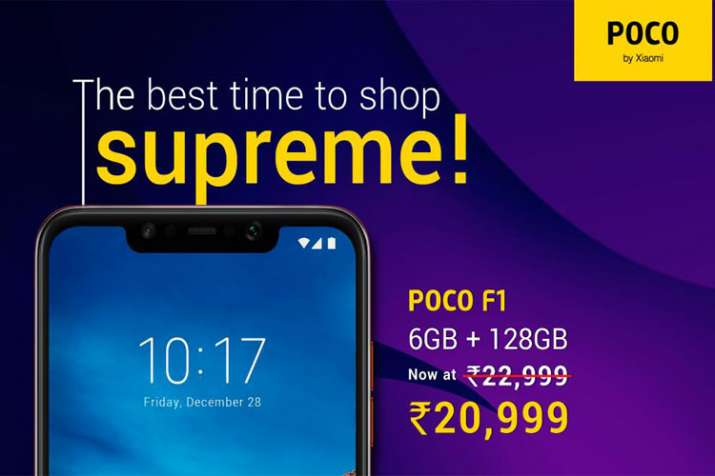 Poco F1 6GB RAM and 128GB variant gets a new price cut | Technology