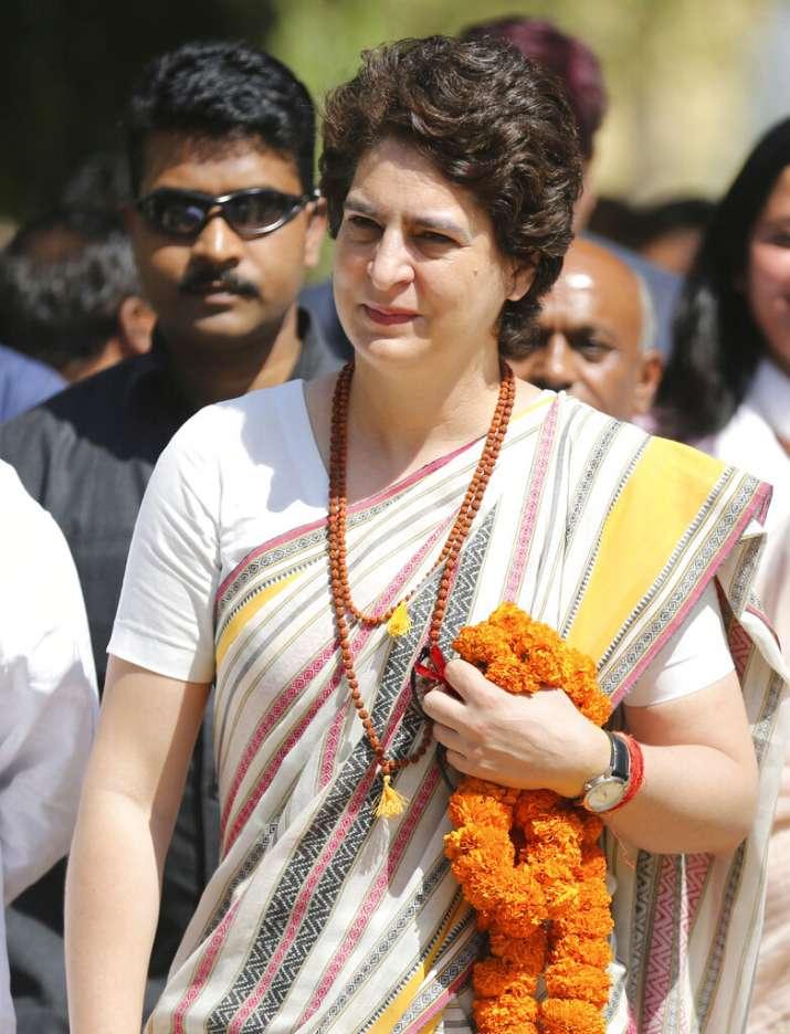 Priyanka arrived in Raebareli this afternoon.