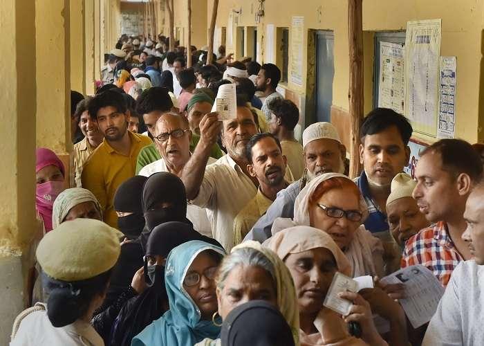 Delhi records 59.8% voter turnout