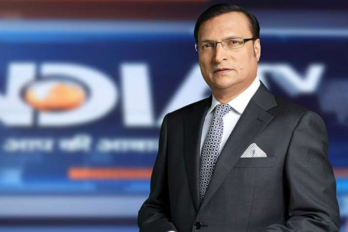 Rajat Sharma, Chairman and Editor-in-Chief, India TV