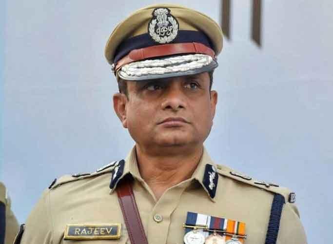 Former Kolkata Police Chief, Rajeev Kumaar