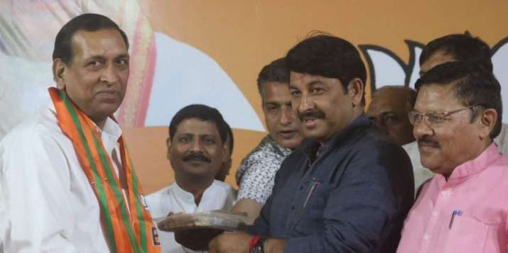 Senior Congress leader Rajkumar Chauhan joins BJP