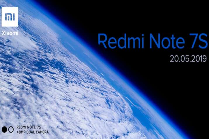 Xiaomi Redmi Note 7S with 48 Megapixel rear camera set to launch in India on May 20