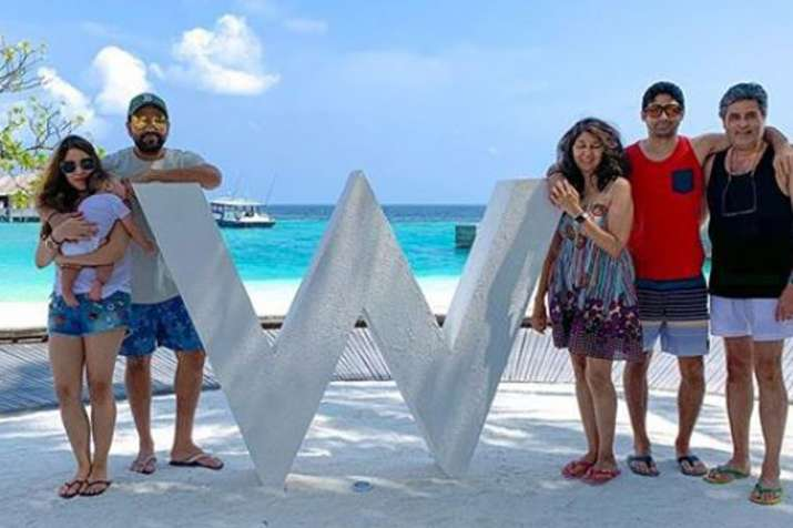 Rohit Sharma spends quality time with family in Maldives after record IPL win | See Pics