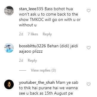 India Tv - Disha Vakani's Instagram picture
