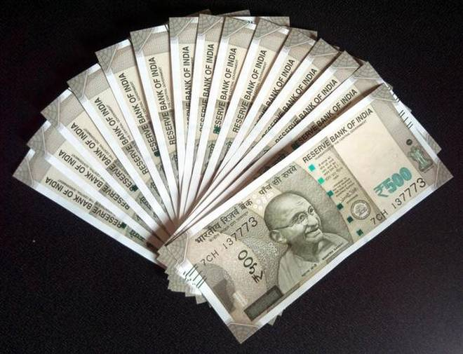The rupee Monday appreciated by 49 paise, the biggest