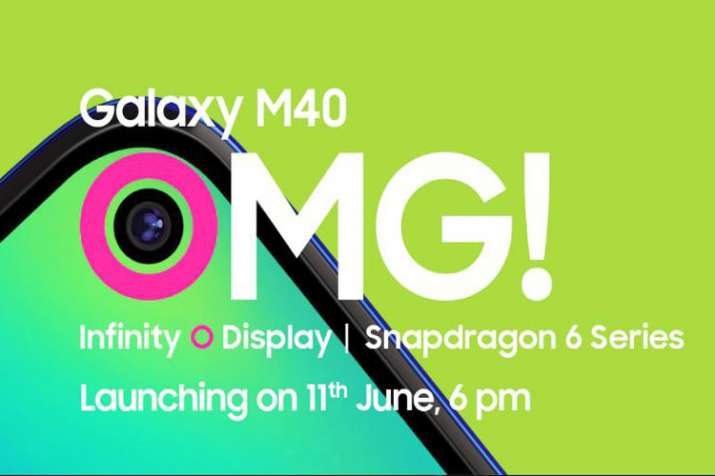 Samsung Galaxy M40 with triple rear camera and infinity O display set to launch in India on 11 June