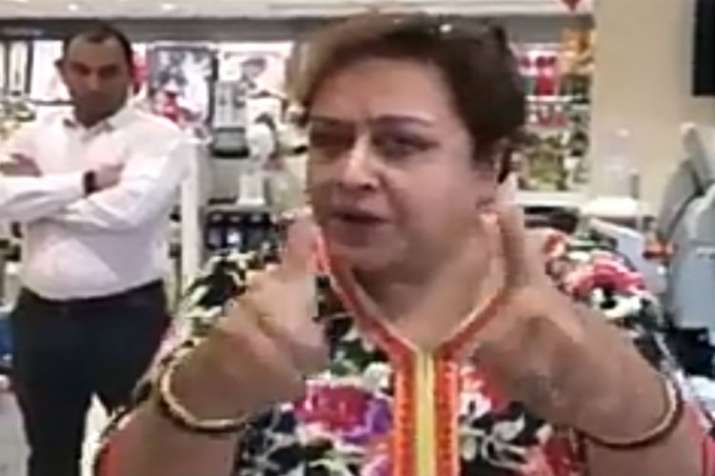 Delhi aunty who allegedly commented that girls who wear