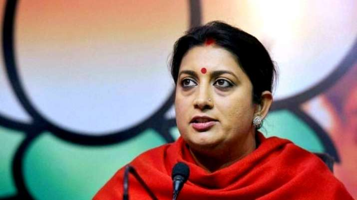 India Tv - Minister of Women and Child Development Smriti Irani