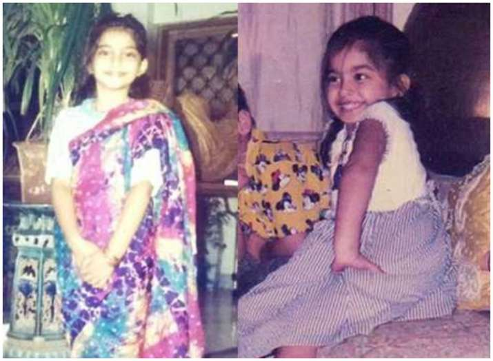 India Tv - B-town celebs childhood pictures