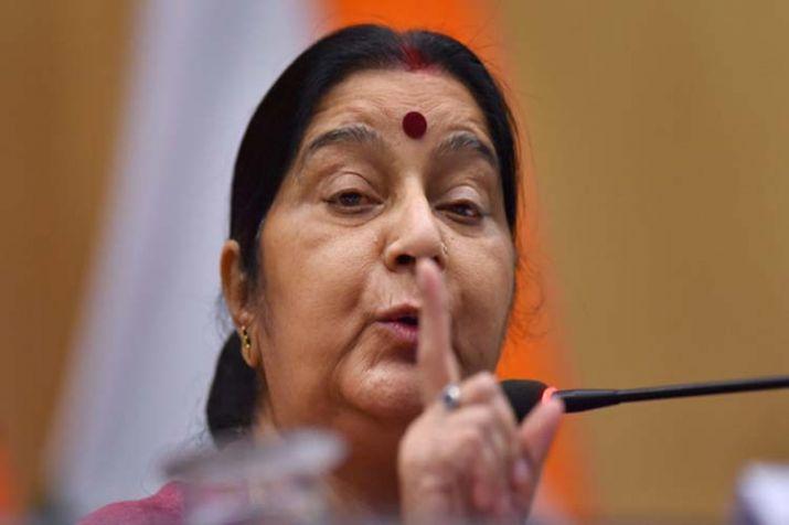 Sushma Swaraj edits Twitter bio