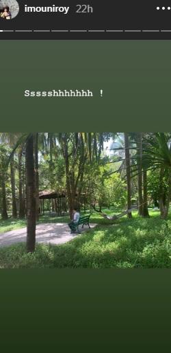 India Tv - Mouni Roy's Instagram story