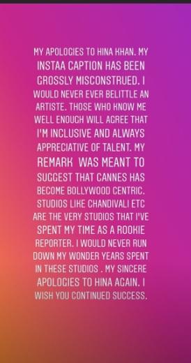 India Tv - Magazine editor apologises