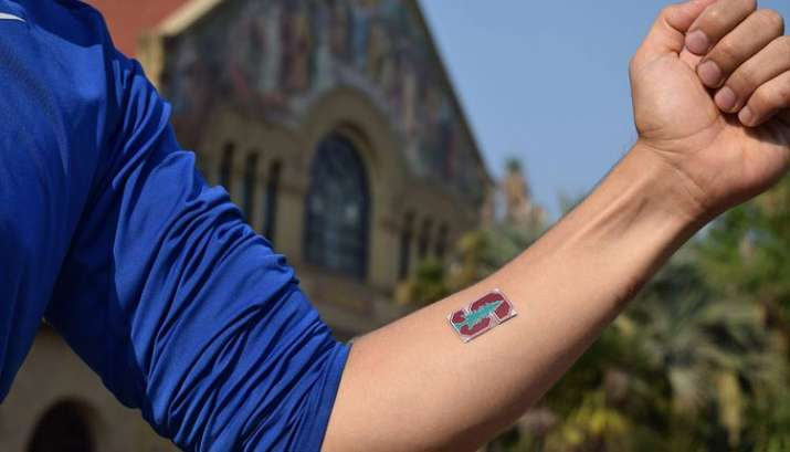 You can now beat the heat with a wearable patch