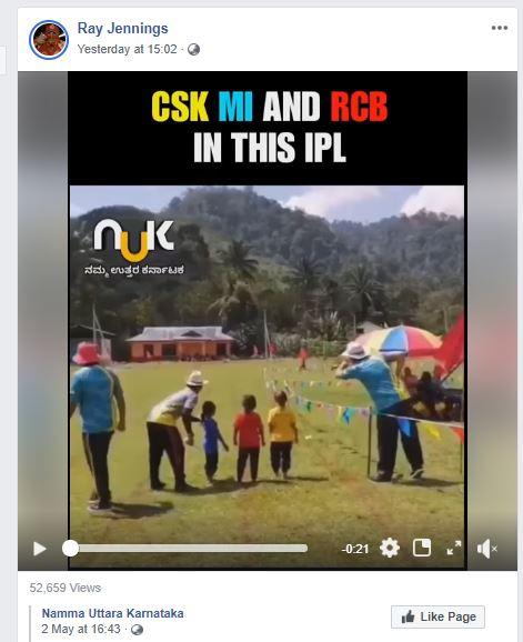 India Tv - Screenshot of Ray Jennings shared video