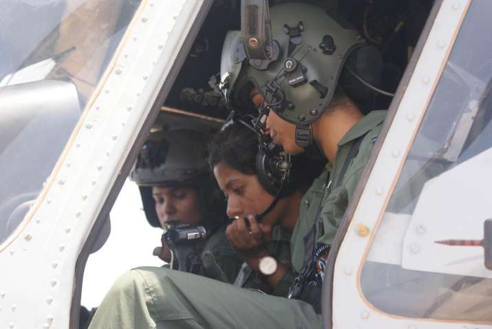 First All Women Crew to fly a Medium Lift Helicopter