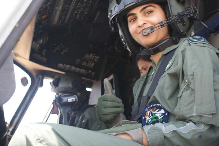 India Tv - First All Women Crew to fly a Medium Lift Helicopter