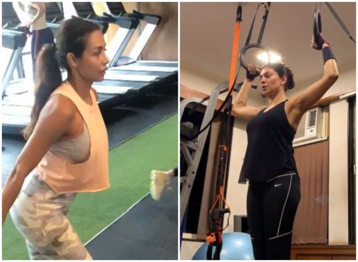 World Athletics Day 2019: 7 Bollywood actresses who can't live without gyming; Watch workout videos