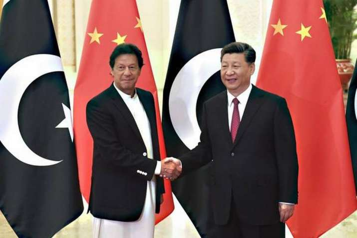 Pakistani PM Imran Khan  and Chinese President Xi Jinping