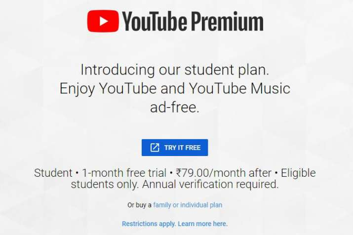 YouTube launches YouTube Music premium and YouTube Premium student plan in India starting at Rs 59 p