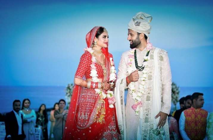 Nusrat Jahan ties knot with businessman beau Nikhil Jain