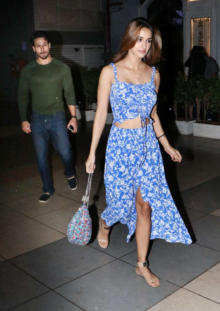 India Tv - Tiger Shroff and Disha Patani enjoy dinner date amid break up rumours