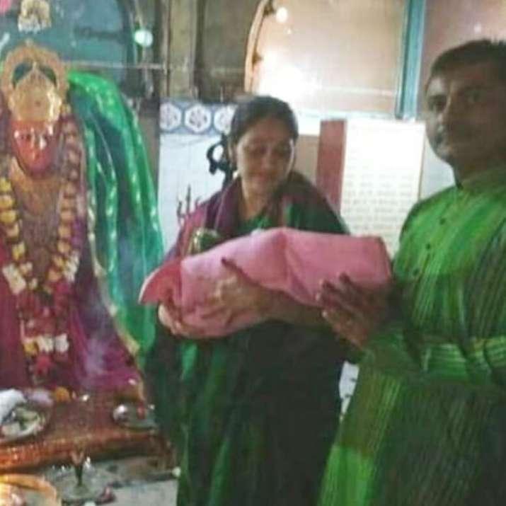 India Tv - Disha Vakani with newborn daughter
