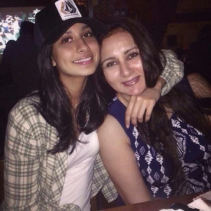 India Tv - Paloma and Poonam Dhillon