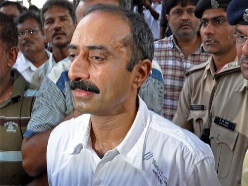 sacked IPS officer Sanjiv Bhatt