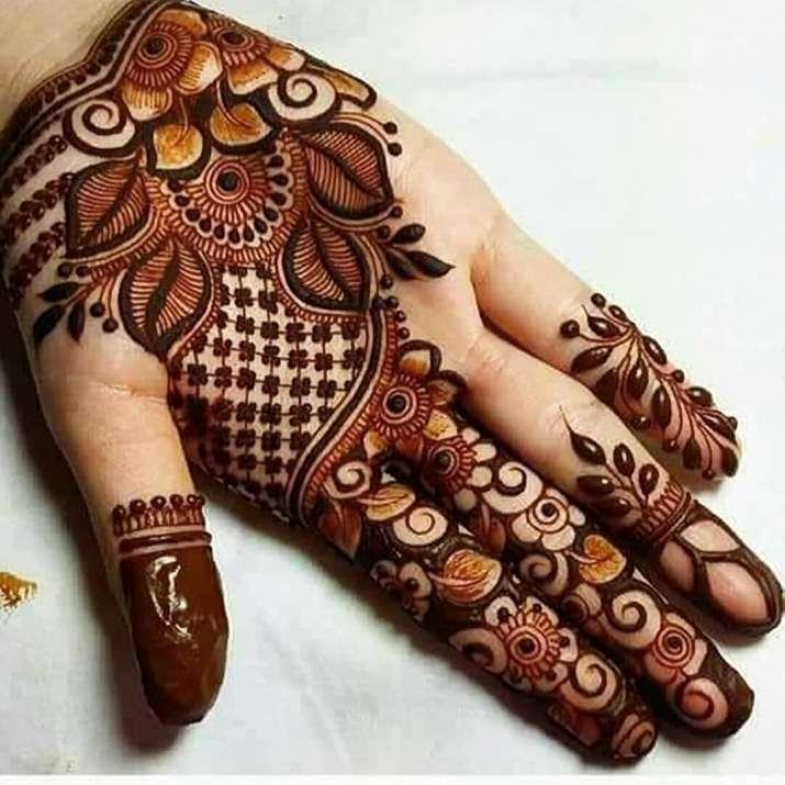 Eid Al Fitr 2019 10 Simple Mehendi Designs To Decorate Your