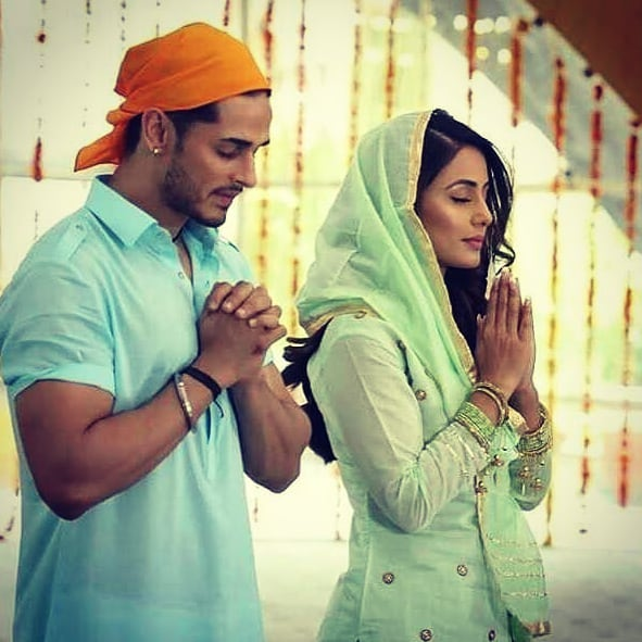 India Tv - Hina Khan and Priyank Sharma will play on-screen couples in Arijit Singh's song