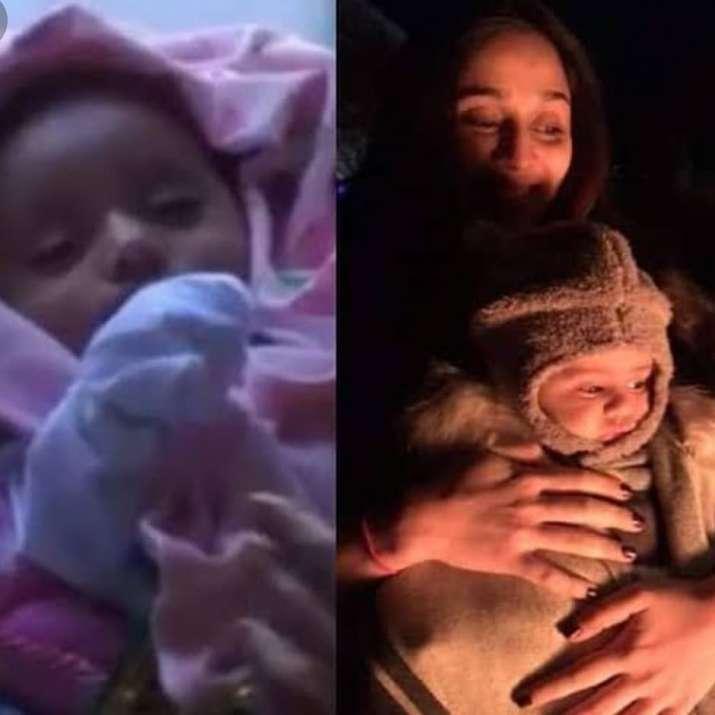 India Tv - Taarak Mehta Ka Ooltah Chashmah fame Disha Vakani shares million dollar selfie with daughter Stuti