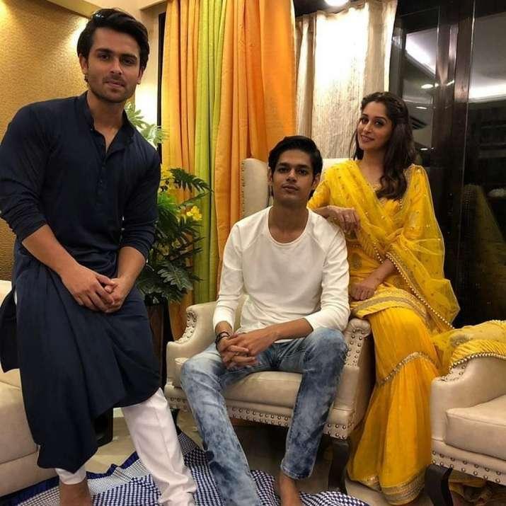 India Tv - Shoaib Ibrahim and wife Dipika Kakar's Eid celebrations