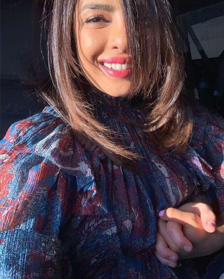 India Tv - Priyanka Chopra looks radiant in her sunkissed selfie from NYC