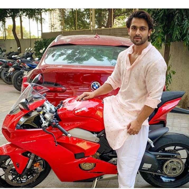 India Tv - Shoaib Ibrahim buys his dream luxury bike on Eid, wife Dipika Kakar cheers for him