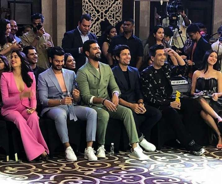 India Tv - Looks who all sat in the first row at GMA 2019