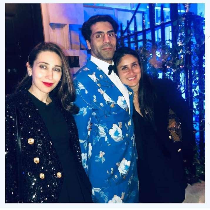 India Tv - Karisma Kapoor and Kareena Kapoor enjoying with friends