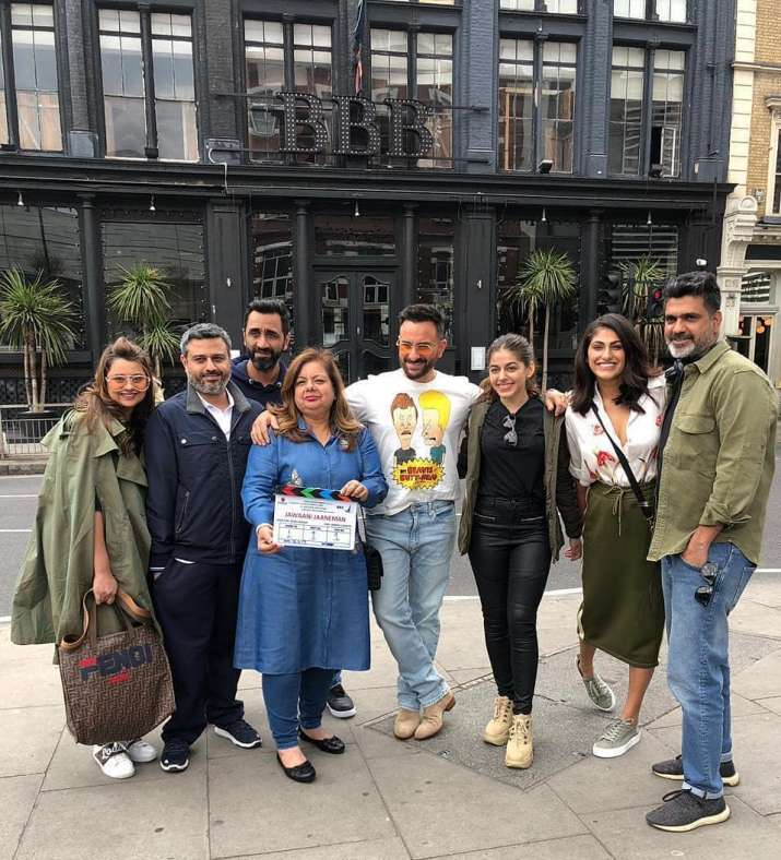 India Tv - Saif Ali Khan and Alaia F start shooting for Jawaani Jaaneman