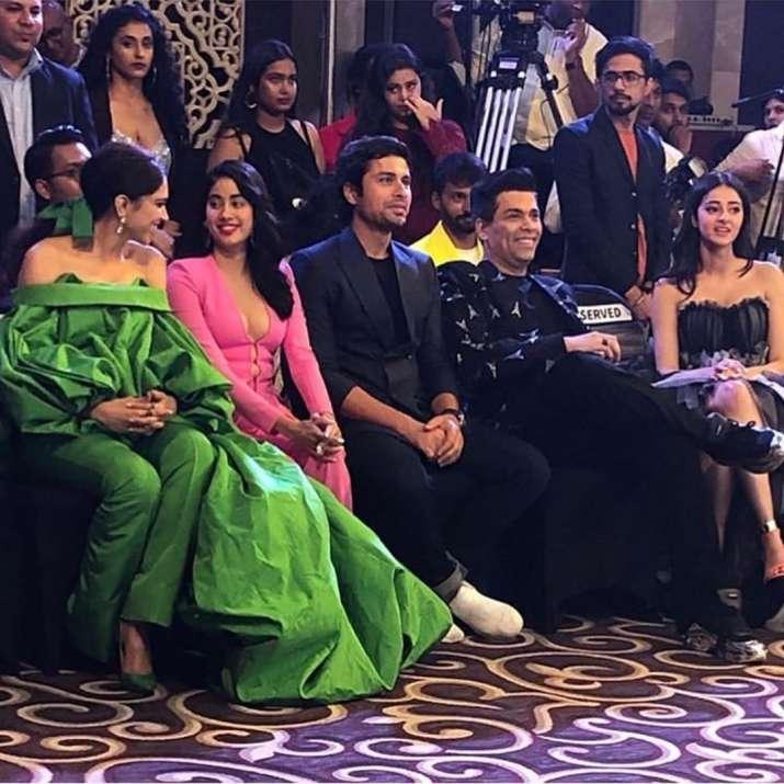 India Tv - Janhvi Kapoor and Deepika Padukone can't stop talking