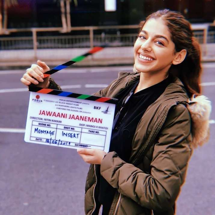 India Tv - Alaia F starts shooting for Jawaani Jaaneman