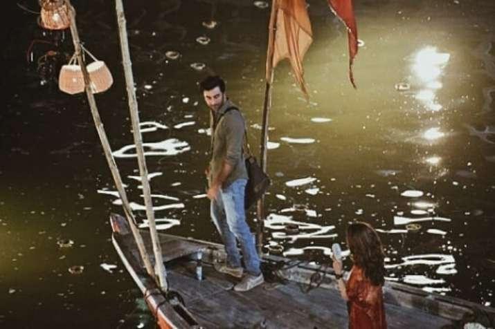 Alia and Ranbir in Varanasi, UP for Brahamastra's shoot