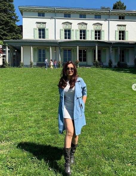 India Tv - Surbhi Jyoti Switzerland vacation